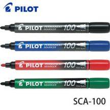 Permanent marker 100 set van 4 - ronde punt-0